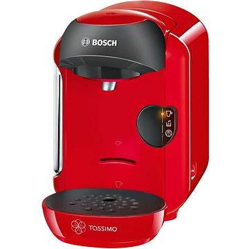 Bosch TASSIMO TAS1253 Vivy červená + ZDARMA Kávové kapsle TASSIMO Jacobs Krönung Cappuccino 264g Kávové kapsle TASSIMO Milka 240g Kávové kapsle TASSIMO Jacobs Krönung Espresso 118,4g