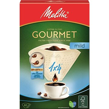 Melitta káva 1x4/80 Gourmet MILD (100871)