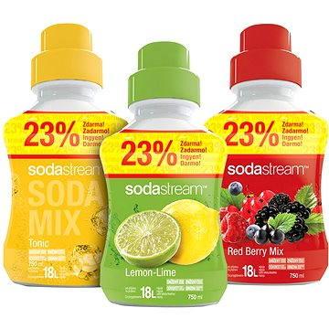 SodaStream 2+1 SHOP MIXV RedLemTon (98020228)