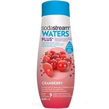 SodaStream PLUS Brusinka (Vitamín) 440ml (42001493)