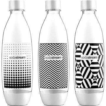 SodaStream Láhev TriPack 1l Fuse Black&White (42002133)