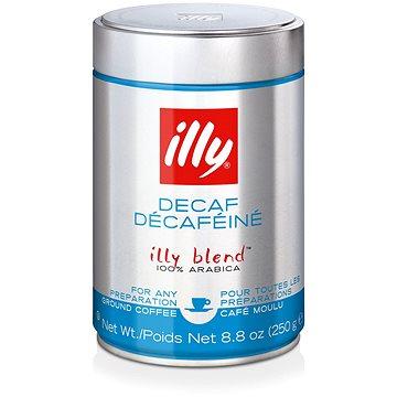 ILLY mletá 250g bez kofeinu (525N)
