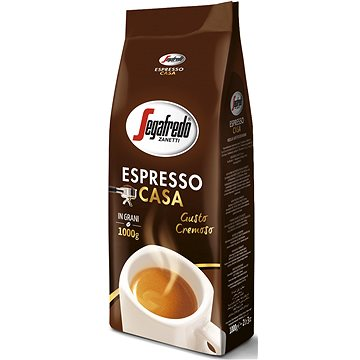 Segafredo Espresso Casa, zrnková, 1000g (1089)