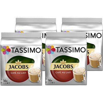 TASSIMO Jacobs Cafe Au Lait 16 porcí 4x