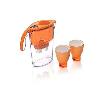LAICA STREAM Line oranžová + 3x filtr Biflux + 2x pohárek (8013240700021)