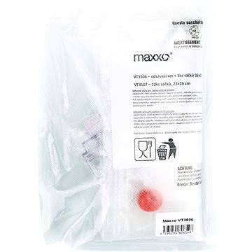 Maxxo Sada pro vakuové baličky – odsávací hadička a ZIP sáčky VT3506 (8595235806548)