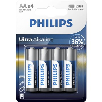 Philips LR6E4B 4ks v balení (LR6E4B/10)