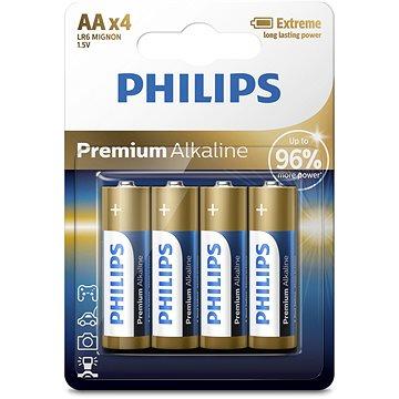 Philips LR6M4B 4 ks v balení (LR6M4B/10)
