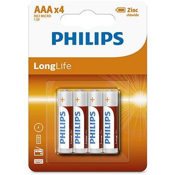 Philips R03L4B 4 ks v balení (R03L4B/10)