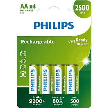 Philips R6B4RTU25 4 ks v balení (R6B4RTU25/10)