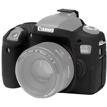 Easy Cover Pouzdro Reflex Silic Canon 760D černé (EC00153)