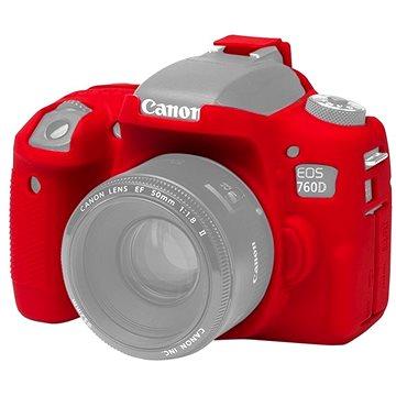 Easy Cover Pouzdro Reflex Silic Canon 760D červené (EC00154)