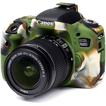 Easy Cover Pouzdro Reflex Silic Canon 760D Camouflage (EC00155)