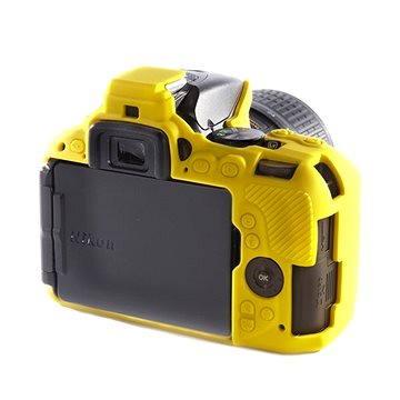 Easy Cover Reflex Silic pro Nikon D5500 žluté (ECND5500Y)