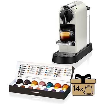 NESPRESSO DéLonghi Citiz EN167.W (EN 167 W) + ZDARMA Promo NESPRESSO Voucher na nákup kávy v hodnotě 1200Kč