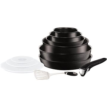 Tefal 11-dílný set Expertise Ingenio Induction L6509902 + ZDARMA Miska Glasslock 2.1l