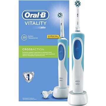 Elektrický zubní kartáček Oral B Vitality Cross action (4210201043508)
