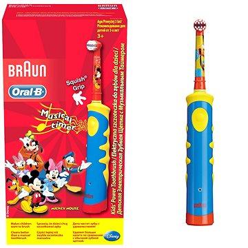 Elektrický zubní kartáček Oral B Rechargeable Kids D10K - dobíjecí dětský kartáček (4210201049616)