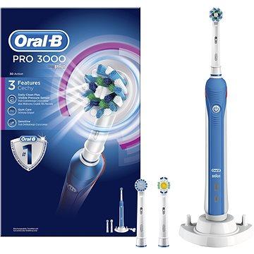 Elektrický zubní kartáček Oral-B PRO 3000 (4210201784982) + ZDARMA Stolní mixér Electrolux Fitness mixér PerfektMix ESB2450