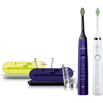 Philips Sonicare DiamondClean HX9332/04 + Philips Sonicare DiamondClean Amethyst HX9372/04