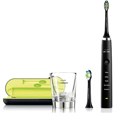 Philips HX 9352/04 Sonicare DiamondClean HX9352/04 + ZDARMA Promo Philips Sonicare HX6064/07 DiamondClean standardní hlavice, 4 ks v balení