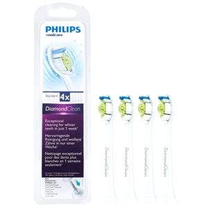 Philips Sonicare HX6064/07 DiamondClean standardní hlavice, 4 ks v balení