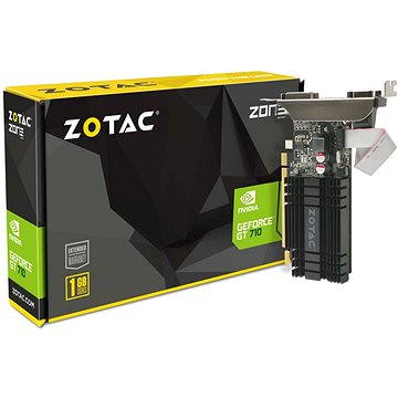 ZOTAC GeForce GT 710 ZONE Edition Low Profile 1GB DDR3 (ZT-71301-20L)