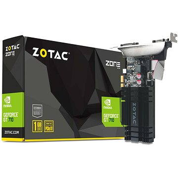 ZOTAC GeForce GT 710 PCIe x1 ZONE Edition Low Profile 1GB DDR3 (ZT-71304-20L)
