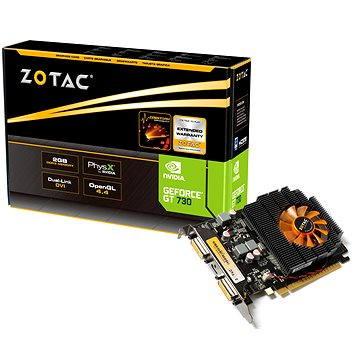 ZOTAC GeForce GT730 ATX 2GB DDR3 (ZT-71103-10L) + ZDARMA Digitální předplatné LEVEL - tříměsíční předplatné