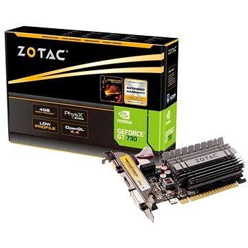 ZOTAC GeForce GT 730 ZONE Edition Low Profile 4GB DDR3 (ZT-71115-20L)