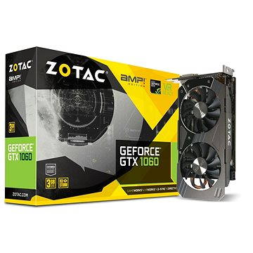 ZOTAC GeForce GTX 1060 3GB AMP Edition (ZT-P10610E-10M) + ZDARMA Hra pro PC The Rocket League