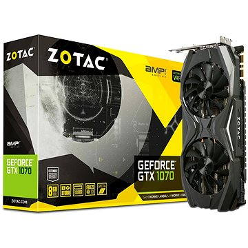 ZOTAC GeForce GTX 1070 AMP (ZT-P10700C-10P) + ZDARMA Hra pro PC Watch Dogs 2