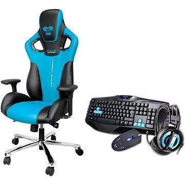E-Blue Cobra modrá (MGEBH02KCS00)
