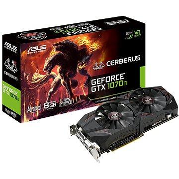 ASUS CERBERUS GeForce GTX 1070Ti Advanced Edition 8GB (90YV0BJ1-M0NA00)