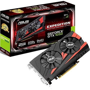 ASUS EXPEDITION GeForce GTX 1050 2G (90YV0A82-M0NA00) + ZDARMA Hra pro PC Everspace