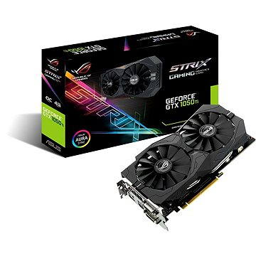 ASUS ROG STRIX GeForce GTX 1050TI O4G GAMING (90YV0A30-M0NA00) + ZDARMA Hra pro PC Everspace