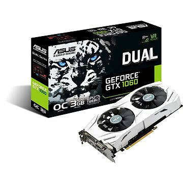 ASUS DUAL GeForce GTX 1060 O3G (90YV09X3-M0NA00) + ZDARMA Hra pro PC Everspace