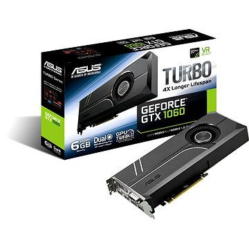ASUS TURBO GeForce GTX 1060 6GB (90YV09R0-M0NA00) + ZDARMA Hra pro PC Dawn of War III