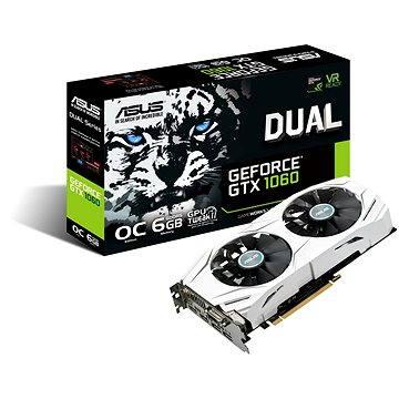 ASUS DUAL GTX1060 O6G (90YV09X0-M0NA00) + ZDARMA Myš ASUS Cerberus Hra pro PC Hra dle vlastního výběru: Raw Data, Redout nebo Maize