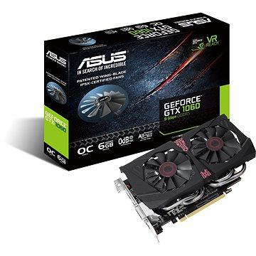 ASUS GeForce GTX 1060 O6G 9GBPS (90YV0A65-M0NA00)