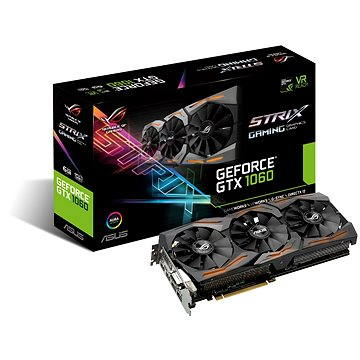ASUS STRIX GAMING GeForce GTX 1060 6GB (90YV09Q1-M0NA00) + ZDARMA Hra pro PC Assassins Creed Origins