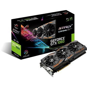 ASUS STRIX GAMING GeForce GTX 1060 O6GB (90YV09Q0-M0NA00) + ZDARMA Hra pro PC Assassins Creed Origins