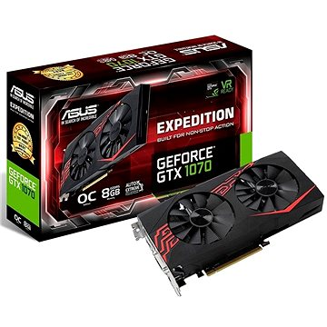 ASUS EXPEDITION GeForce GTX 1070 O8GB (90YV09T6-M0NA00)