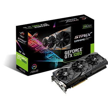 ASUS ROG STRIX GAMING GeForce GTX 1080 OC DirectCU III 8GB (90YV09M0-M0NM00)
