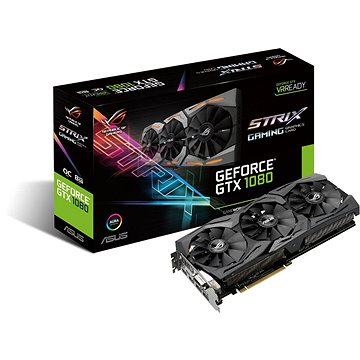 ASUS ROG STRIX GAMING GeForce GTX 1080 DirectCU III O8GB-11GBPS (90YV09M4-M0NM00)