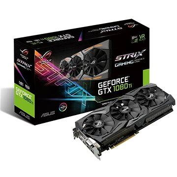 ASUS ROG STRIX GAMING GeForce GTX 1080Ti OC 11GB (90YV0AM0-M0NM00) + ZDARMA Hra pro PC Dawn of War III