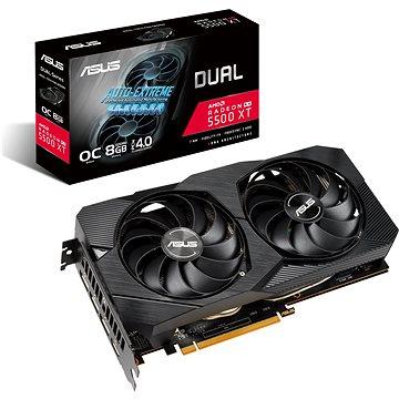 ASUS DUAL Radeon RX 5500 XT O8G EVO (90YV0DV1-M0NA00)