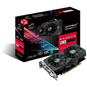 ASUS ROG STRIX GAMING RX560 DirectCU II OC 4GB EVO (90YV0AH6-M0NA00) + ZDARMA Hra pro PC Quake Champions Pack