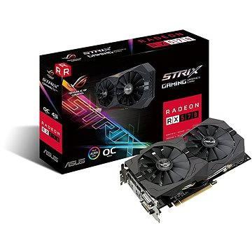 ASUS ROG STRIX GAMING RX570 DirectCU II OC 4GB (90YV0AJ0-M0NA00BB) + ZDARMA Hra pro PC Quake Champions Pack