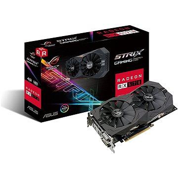 ASUS ROG STRIX GAMING RX570 DirectCU II 4GB (90YV0AJ1-M0NA00) + ZDARMA Hra pro PC Quake Champions Pack